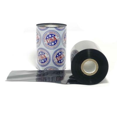 """Wax Ribbon: 1.00"""" x 1,476' (25.4mm x 450m), Ink on Outside, Premium, $2.28 per roll"""