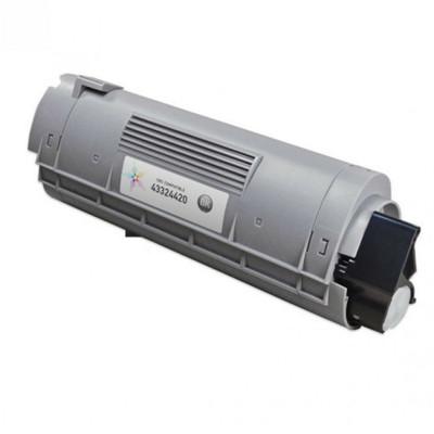 Black Toner for Okidata C6100 & C5550 Laser Printer