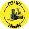 Forklift Parking Sign