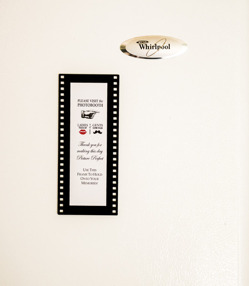 Hollywood Magnetic Photo Booth Frames 2\