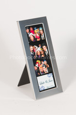 Silver Matte 2x6 photo booth frame