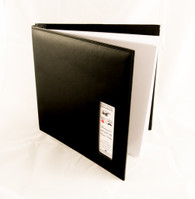 Photo booth album with cutout