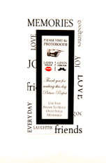 Photo Booth Frames with magnet and easel