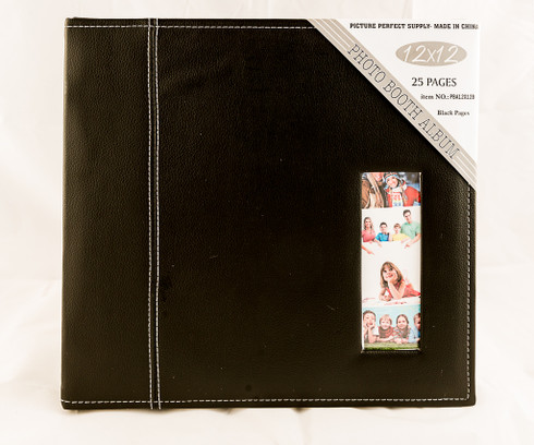 Black Photo Booth Album