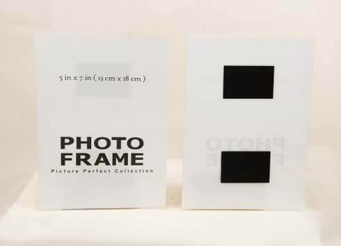 5x7 acrylic magnetic Photo Frame, sign holder Fridge magnet Picture ...