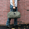 Rescued Army Surplus Duffel Bag