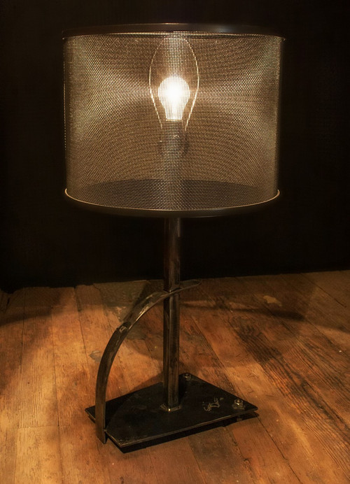 Rustic Wrought Iron Table Lamps Iron Lampshade