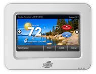 Source1 CTS Series Model S1-TRPU32P7S Color Touchscreen Thermostat