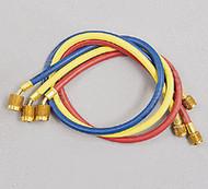 "Ritchie Yellow Jacket 22983 36"" 3-Pak (RYB), PLUS II 1/4"" Hoses w/ SealRight Fittings"