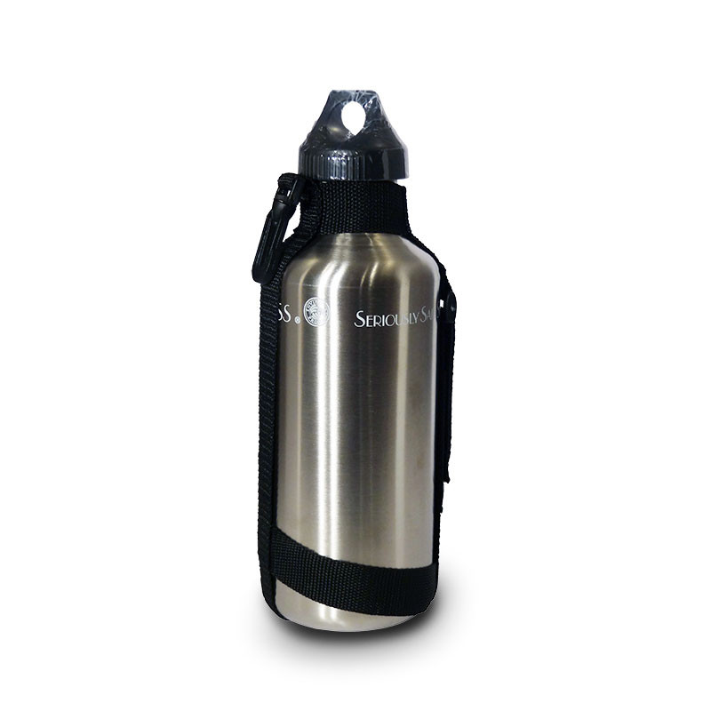 Water Bottle With Strap: 40 Oz Stainless Steel Water Bottle