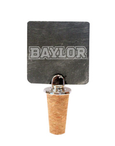 Baylor Slate Bottle Stopper