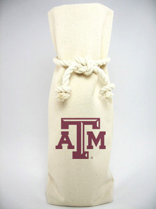 Texas A&M Canvas Bottle Tote