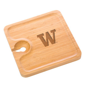 Washington Bamboo Party Plate