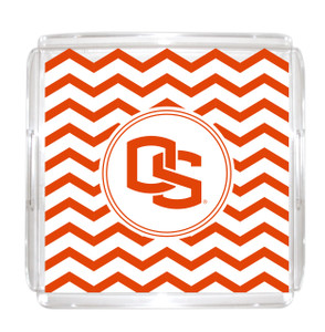 Oregon State Lucite Tray 12x12