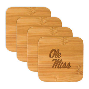 Mississippi Bamboo Coasters