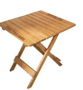 USC Tailgate Wood Table