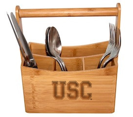 USC Bamboo Caddy