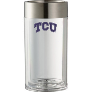 Texas Christian Ice-less Bottle Cooler