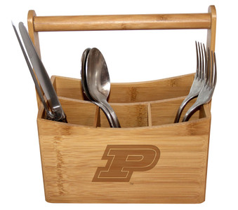 Purdue Bamboo Caddy