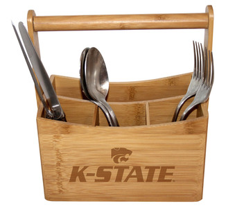 Kansas State Bamboo Caddy