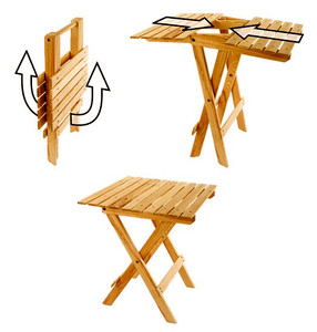 Iowa State Tailgate Wood Table
