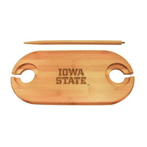 Iowa State Bamboo Picnic Table