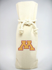 Minnesota Canvas Bottle Tote