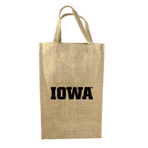 University of Iowa 2-Bottle Tote
