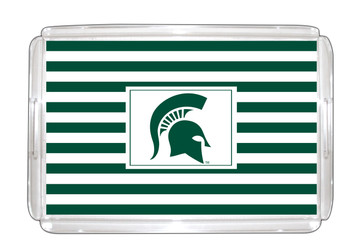 Michigan State Lucite Tray 11x17