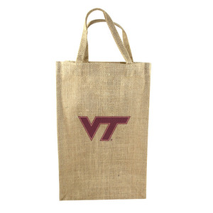 Virginia Tech 2-Bottle Tote