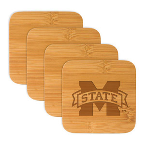 Mississippi State Bamboo Coasters