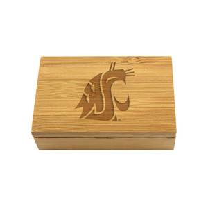 Washington State Bamboo Corkscrew Set