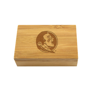 Florida State Bamboo Corkscrew Set