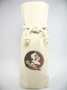Florida State Canvas Bottle Tote