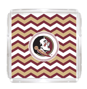 Florida State Lucite Tray 12x12