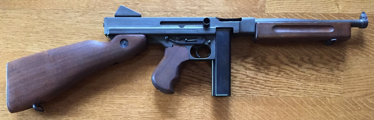 Thompson M1A1 in  45ACP - 50 Rounds Included