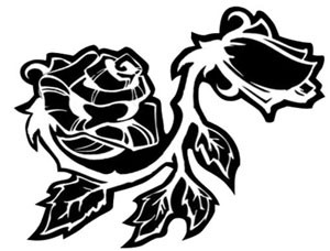 Roses - Decal