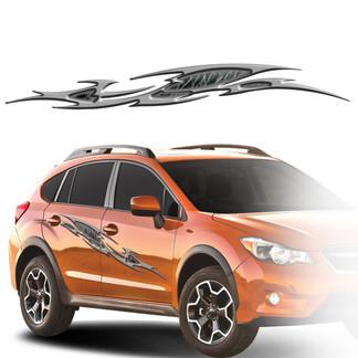 FAS Graphic professional vehicle graphics - HR07 Razorback