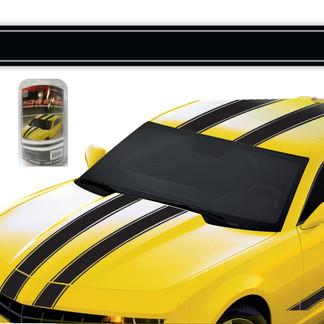 8007 - Racing Stripe Black