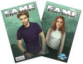 Fame: Robert Pattinson/Kristin Stewart (Flip Book/TWO books in ONE)