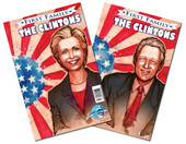 First Family: The Clintons (Flip Book/TWO books in ONE)