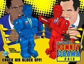 Political Power: Romney, Obama 2012