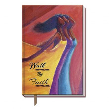 Walk By Faith  Large Cloth Journals--Kerream Jones