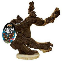 Mopani Wood Aqua Tree 20""