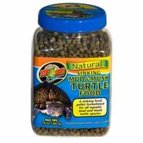 Zoo Med Natural Sinking Mud Musk Turtle Food: 10 oz