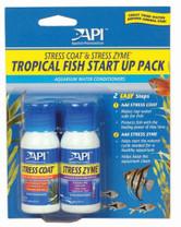 API Stress Coat & Stress Zyme Tropical Fish Start Up Pack 1oz Bottles