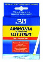 API Ammonia Aquarium Test Strips 25ct