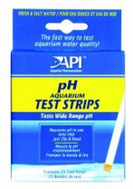 API pH Aquarium Test Strips 25 Tests