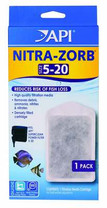 API SUPERCLEAN Power Filter Nitra-Zorb Size 5-20 single