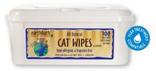 earthbath Hypo-Allergenic Cat Wipes 100ct